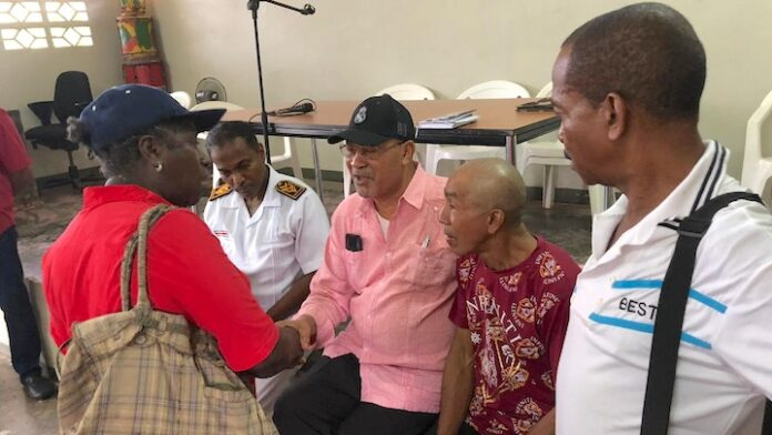 President van Suriname brengt bezoek aan Creola in Saramacca