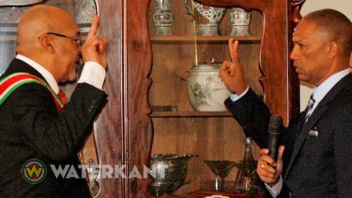 Bouterse legt zaak Politiebond Suriname neer bij minister van Justitie