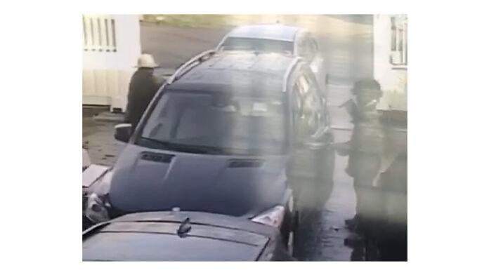 Brute overval op ondernemer in Suriname vastgelegd met beveiligingscamera