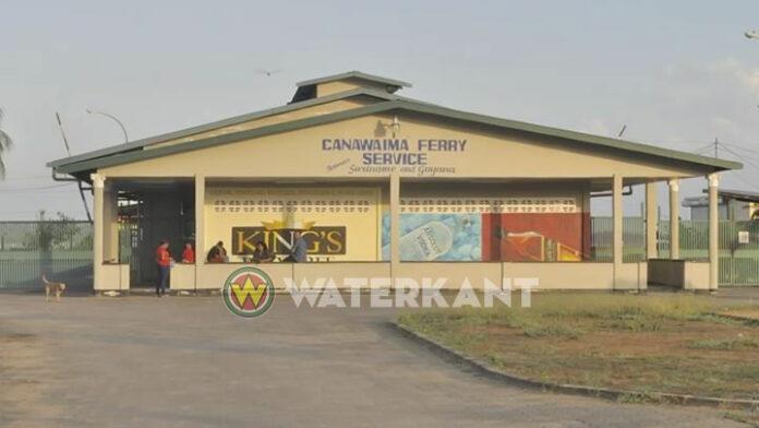 Veerdienst Guyana-Suriname ligt stil vanwege problemen met Canawaima ferry