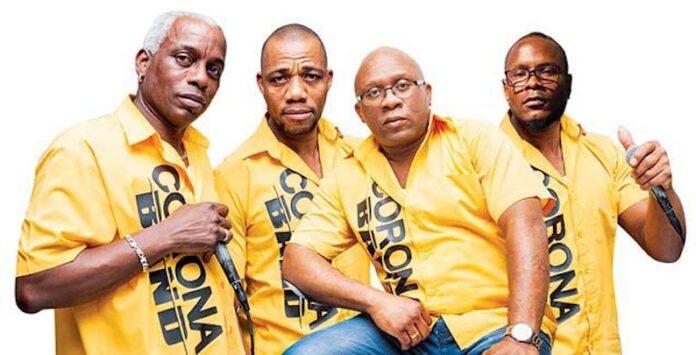 Corona Band is tijdens Keti Koti in Suriname