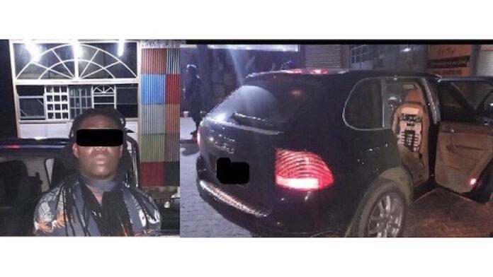 Man met drugs in auto onderweg naar Frans-Guyana in Suriname aangehouden