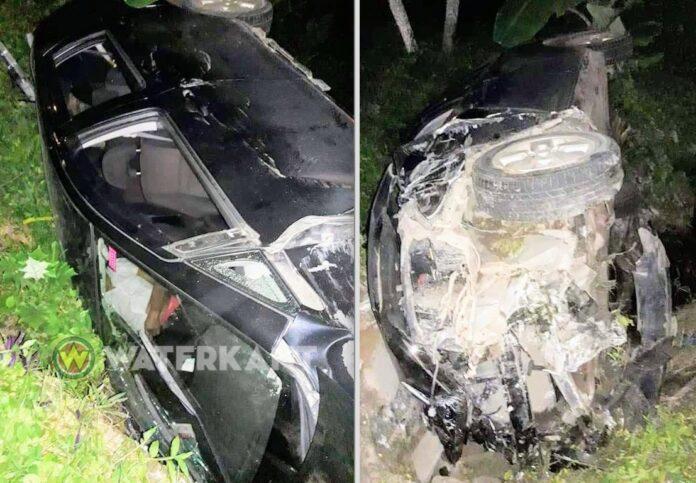 Dronken autobestuurder veroorzaakt drie aanrijdingen vlak na elkaar in Suriname