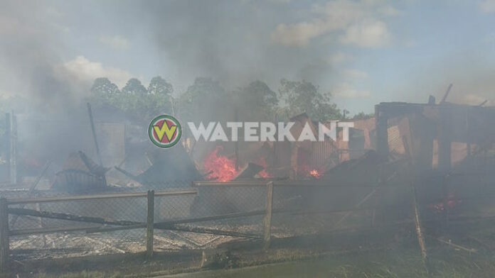 Kinderen op tijd gered bij brand in oppashuis Suriname