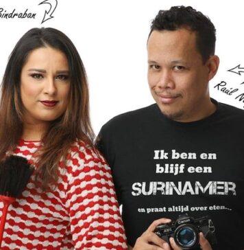 Make-up artist en haarstylist Renu Bindraban verzorgt workshop in Suriname