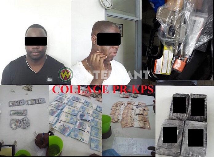 Coke, wapens en geld in beslag genomen bij arrestatie drugsverdachten