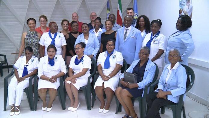 Zuster Sherida Boldewijn is 'Nurse of the Year' in Suriname