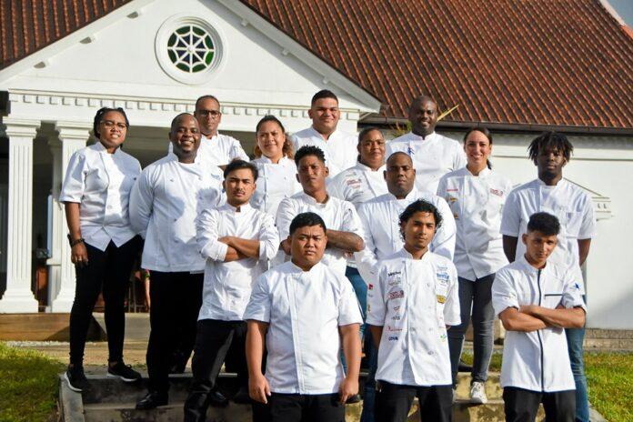 Nationaal Culinair Team Suriname maakt zich klaar voor 'Taste of the Caribbean'