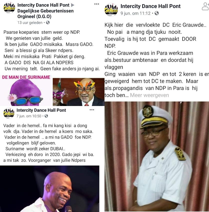 Wraakposten Inter City Suriname