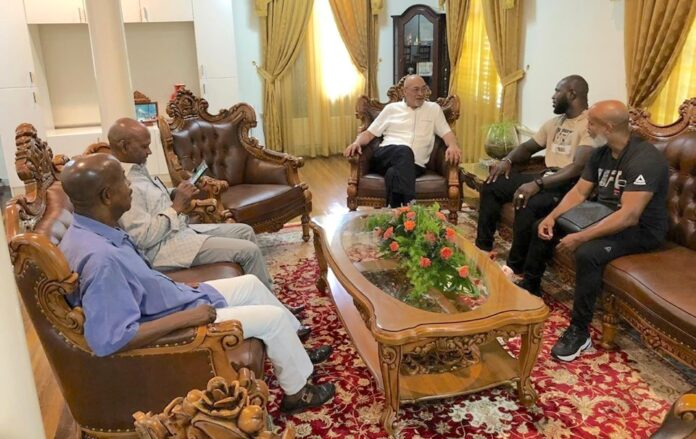 'Bigi Boy' terug in Suriname en op bezoek bij president Bouterse