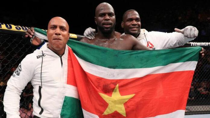 Suriname hoopt op UFC overwinning voor 'Bigi Boi' tegen 'Pretty Boy'