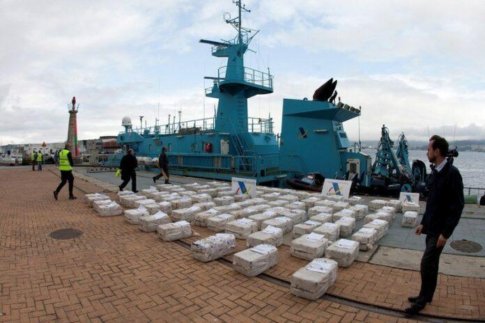 Spanjaarden onderscheppen 2.500 kilo cocaïne op boot die vertrok uit Suriname