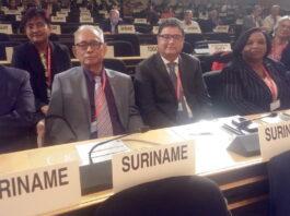 Suriname op historische conferentie van de Internationale Arbeidsorganisatie
