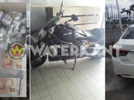 Drugs, geld, auto's en motor in beslag genomen bij inval politie