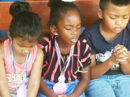 Zevende Nationale Kindergebedsdag in Suriname