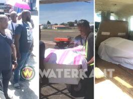 VIDEO: ABOP helpt stoffelijke resten met vliegtuig vervoeren naar binnenland