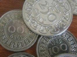 Tekort aan munten in Suriname; goederen in winkels duurder