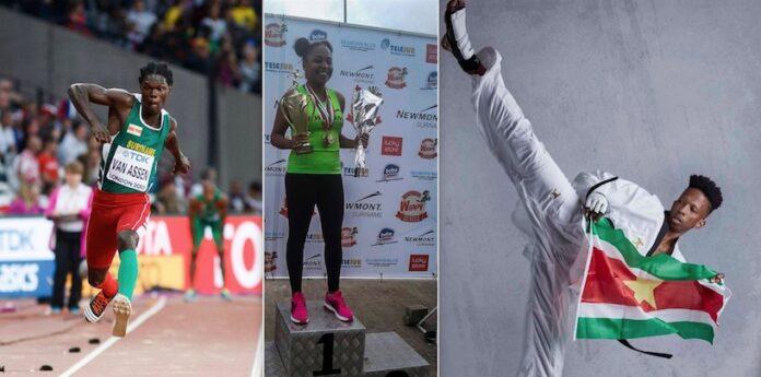 Jonge topsporters krijgen baan op ministerie van Sport in Suriname