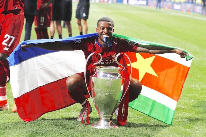Vlag van Suriname gaat de wereld rond na Champions League-finale