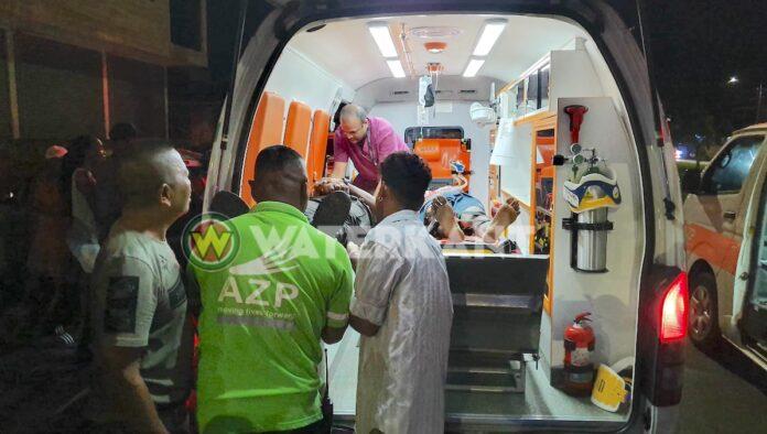 VIDEO: Vier gewonden bij aanrijding in Paramaribo