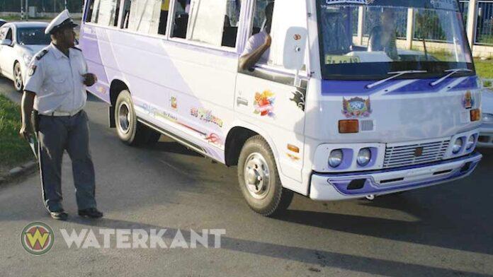 Surinaamse buschauffeur in cel om 6 niet betaalde boetes