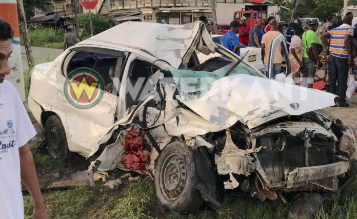 Dode bij ernstig verkeersongeval op Highway in Suriname