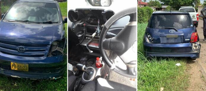 Opnieuw gestolen auto gesloopt terug gevonden