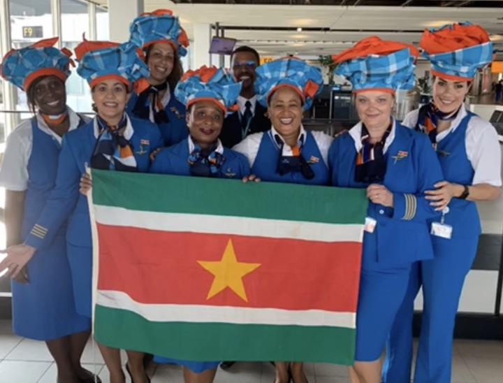 Ook KLM personeel stond stil bij Keti Koti viering