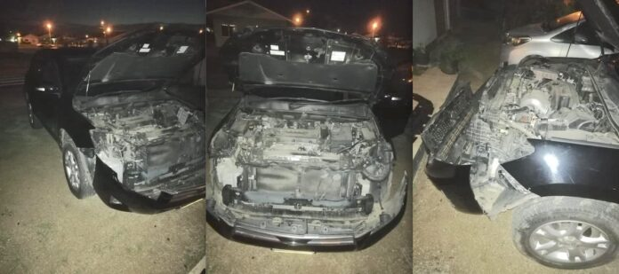 Autobezitter treft voertuig 's ochtends gesloopt aan