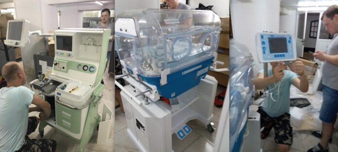 Russische donatie medisch apparatuur aan 's Lands Hospitaal Suriname