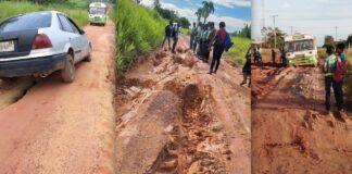Bewoners Phedra slaan alarm over slechte staat van de weg