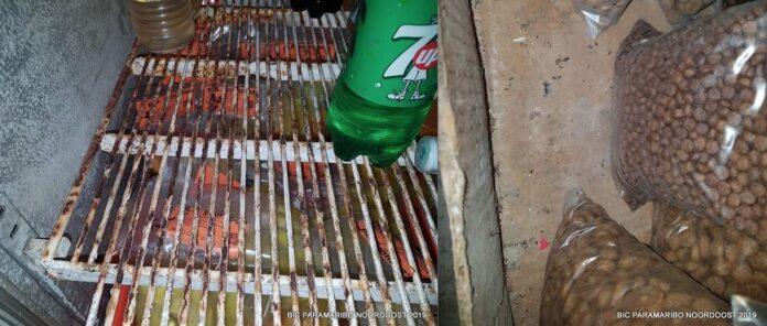 Milieu en Gezondheidsdienst Suriname sluit onhygiënische winkel