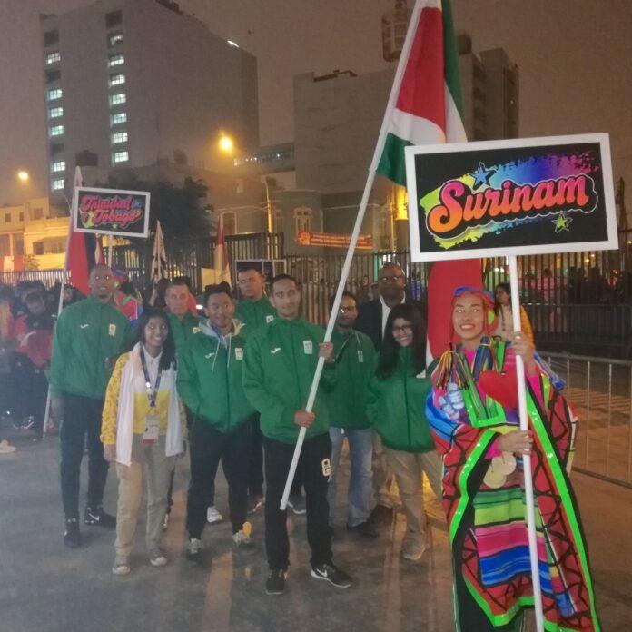 Suriname op de Panamerikaanse Spelen in Peru
