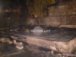 Woning uitgebrand door brandstichting; dader aangehouden