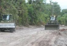 Startsein gegeven voor aanleg weg naar dorpen Maloko Kondre en Manjanbon