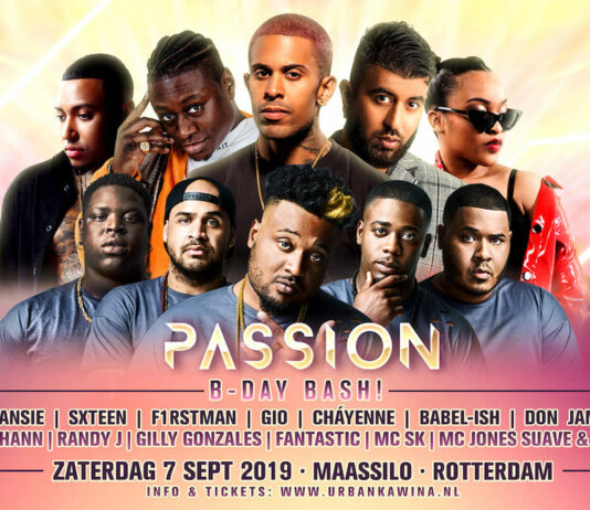Passion Birthday Bash op 7 september in de Maassilo Rotterdam