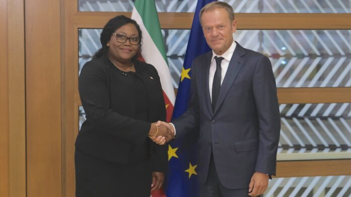Sieglien Burleson officieel ambassadeur Suriname bij EU