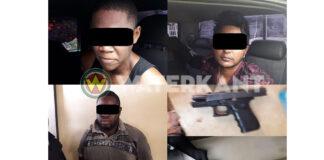 Surinaamse politie geeft foto's vrij van overvallers bij bewakingsbedrijf