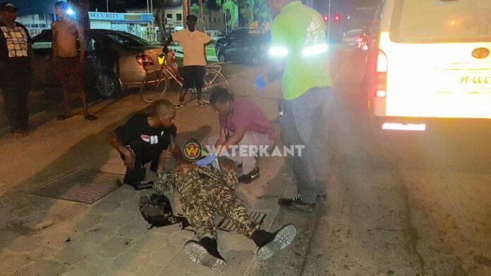 Militair zwaargewond bij aanrijding in Suriname