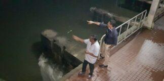 minister chotkan orrienteert na zware regenval