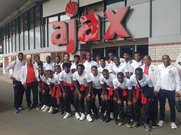 Natio Suriname speelt gelijk tegen Telstar