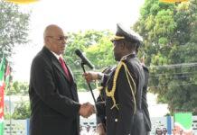 Het Korps Politie Suriname heeft vanaf vandaag een nieuwe korpschef