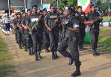 politie in Suriname