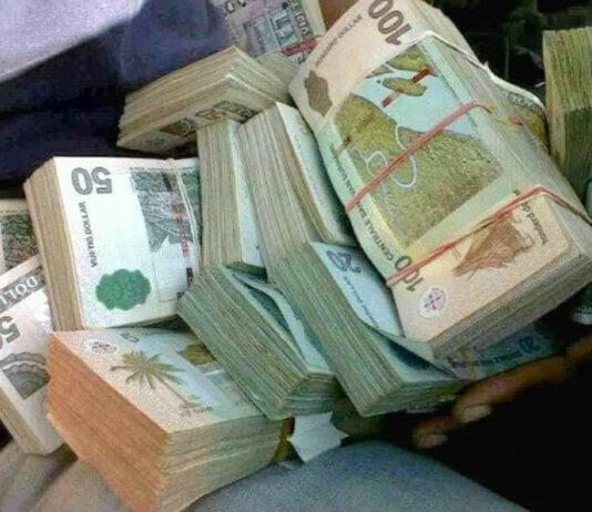 Surinaams geld srd Suriname
