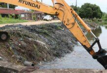 waterwegen Livorno opgeschoond