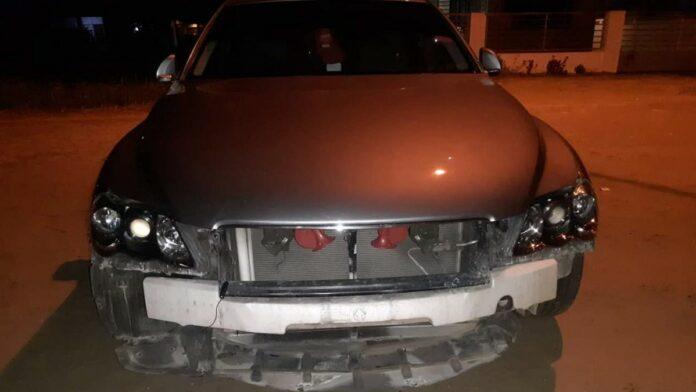 Bezoeker Got Talent treft auto gesloopt aan na afloop