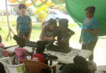 LVV geeft landbouwtraining aan kinderen vakantiesc