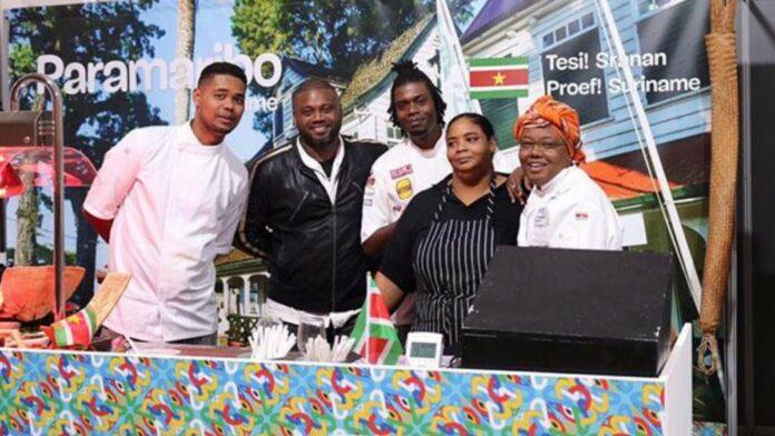 Surinaamse keuken op Eat! Brussels Festival