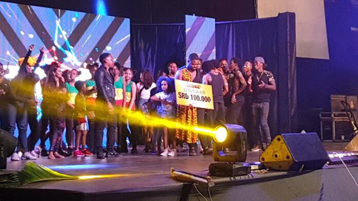 Spectaculaire finale van 'The Weekend Talentshow' in Suriname