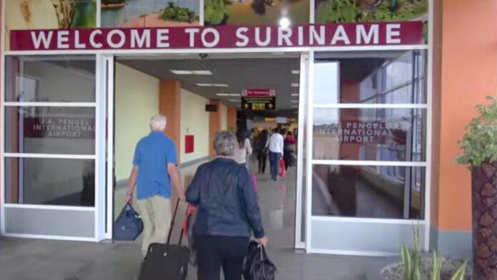 Aankomst in Suriname